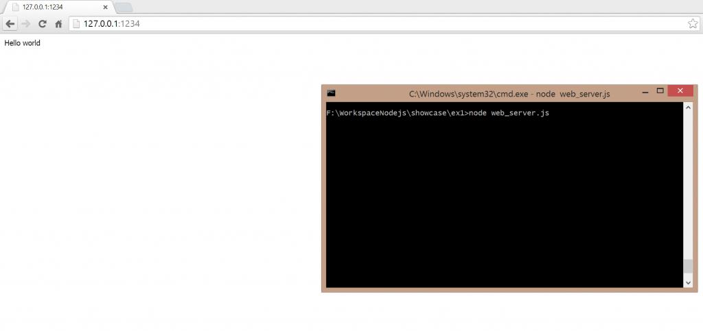 hello world on web server