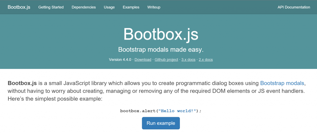 Bootbox.js